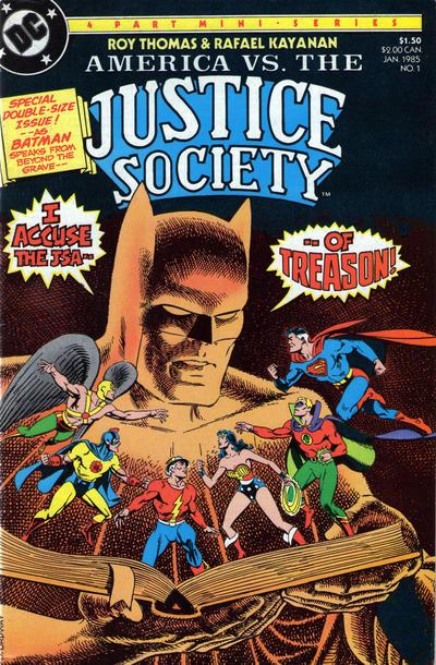 America vs. the Justice Society Vol 1 1