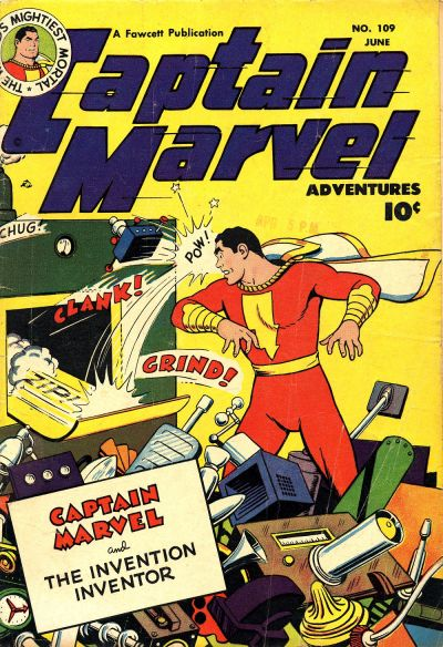 Captain Marvel Adventures Vol 1 109