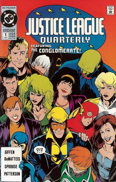 Justice League Quarterly Vol 1 1