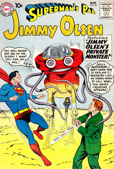Superman's Pal, Jimmy Olsen Vol 1 43