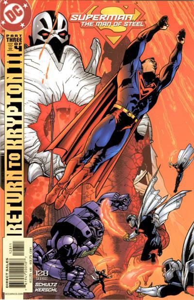 Superman: Man of Steel Vol 1 128
