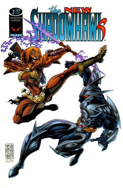 The New Shadowhawk Vol 1 3