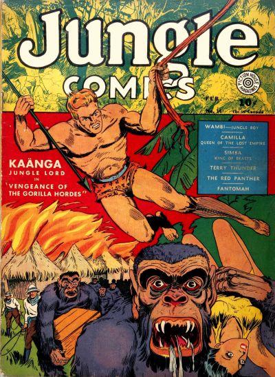 Jungle Comics Vol 1 14