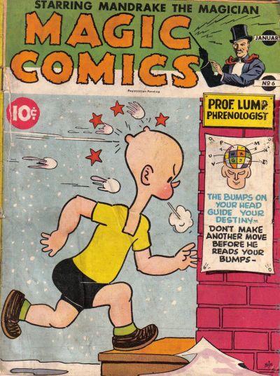 Magic Comics Vol 1 6