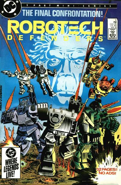 Robotech Defenders Vol 1 2