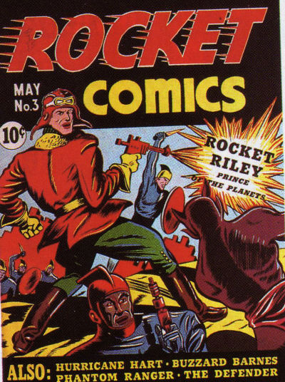 Rocket Comics Vol 1 3