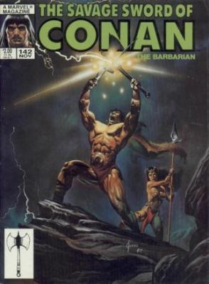 Savage Sword of Conan Vol 1 142