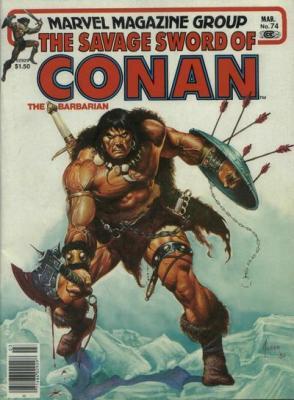 Savage Sword of Conan Vol 1 74