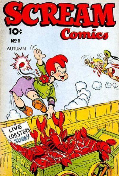 Scream Comics (1944) Vol 1 1