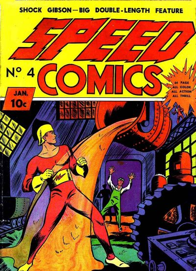 Speed Comics Vol 1 4