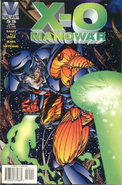 X-­O Manowar Vol 1 55