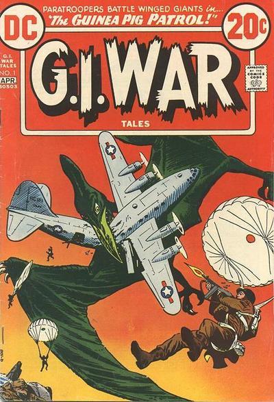 G.I. War Tales/Covers