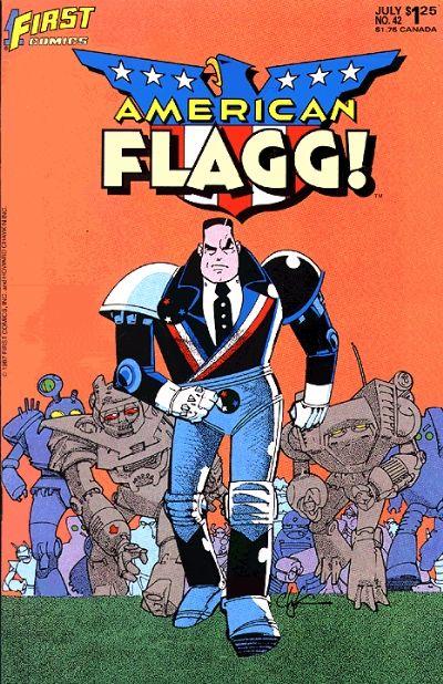 American Flagg Vol 1 42