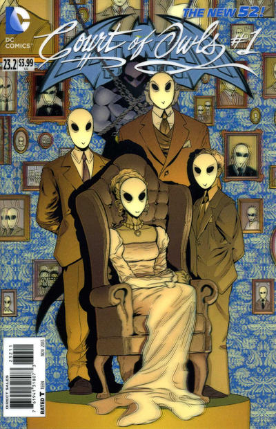 Batman and Robin Vol 2 23.2: The Court of Owls
