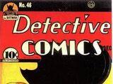 Detective Comics Vol 1 46