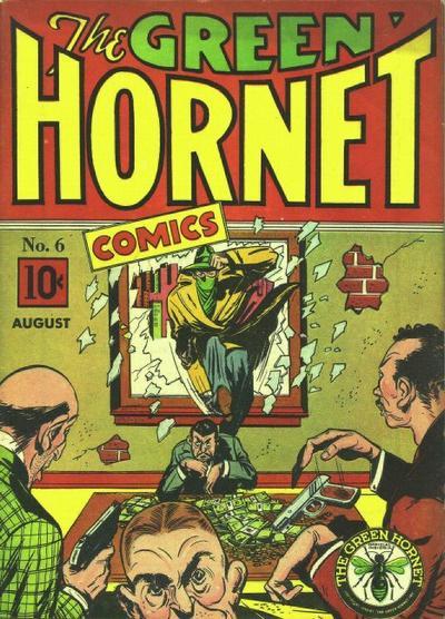 Green Hornet Comics Vol 1 6