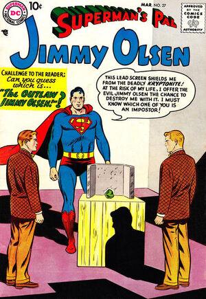 Superman's Pal, Jimmy Olsen Vol 1 27.jpg