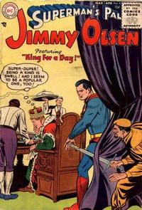 Superman's Pal, Jimmy Olsen Vol 1 4