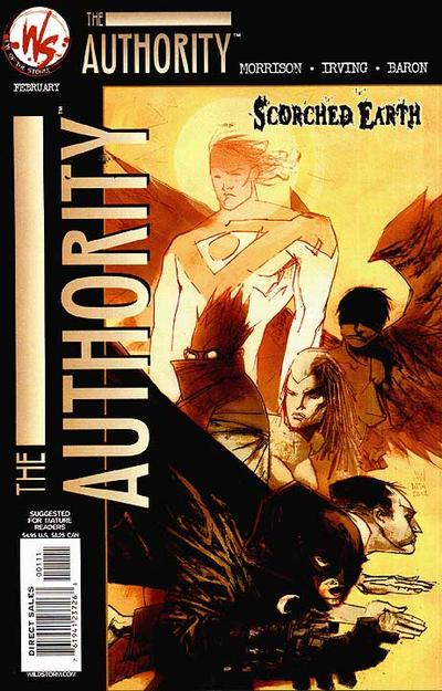 Authority: Scorched Earth Vol 1 1