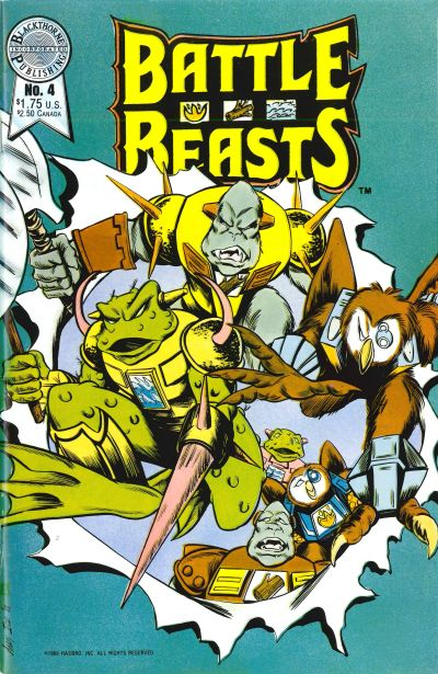 Battle Beasts Vol 1 4