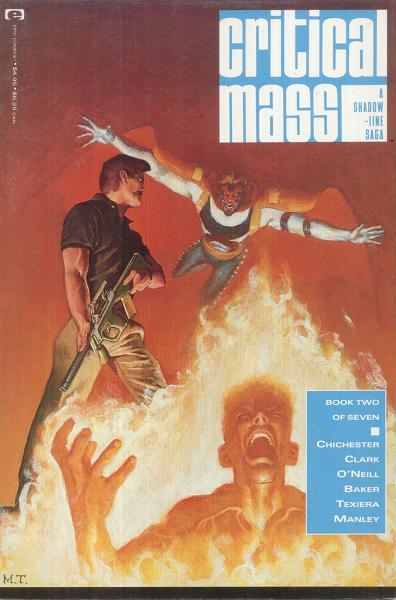 """A Shadowline Saga: """"Critical Mass"""" Vol 1 2"""