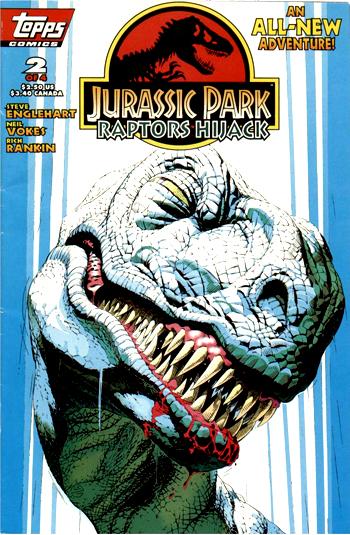Jurassic Park: Raptors Hijack Vol 1 2
