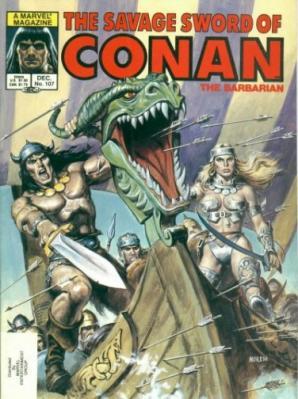 Savage Sword of Conan Vol 1 107