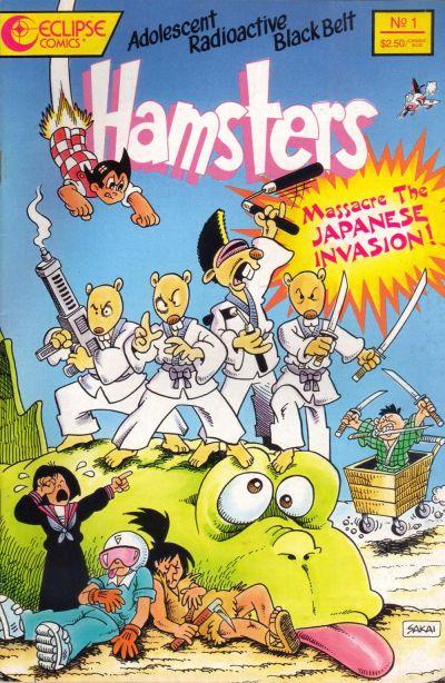 Adolescent Radioactive Black Belt Hamsters: Massacre the Japanese Invasion Vol 1 1