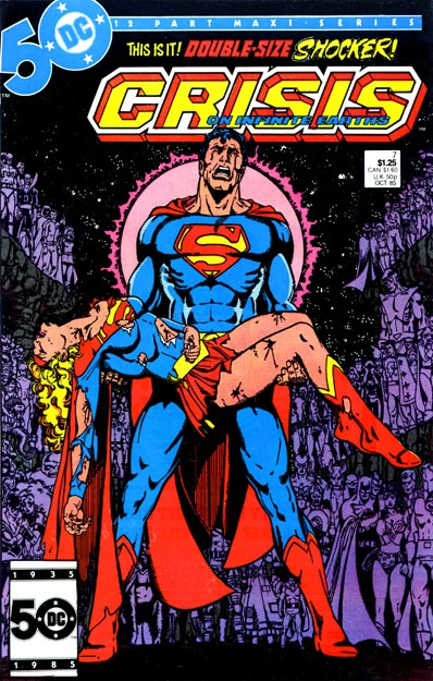 Crisis on Infinite Earths/Covers