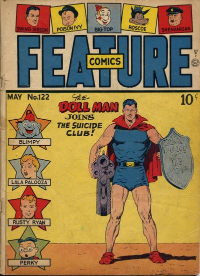 Feature Comics Vol 1 122