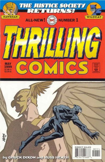 JSA Returns: Thrilling Comics Vol 1 1