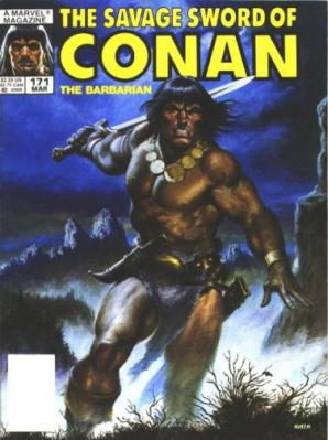 Savage Sword of Conan Vol 1 171
