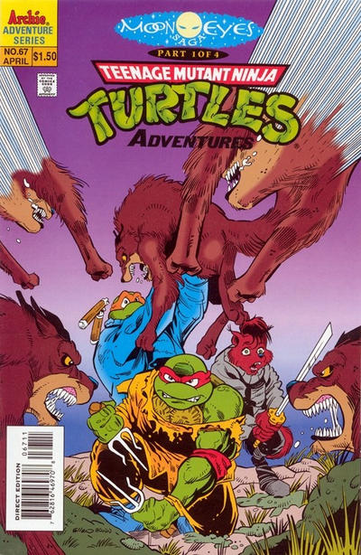 Teenage Mutant Ninja Turtles Adventures Vol 2 67