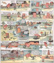Krazy Kat Sunday comic strip