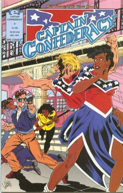 Captain Confederacy Vol 2 2