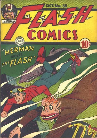 Flash Comics Vol 1 58