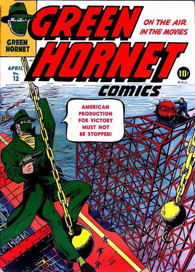 Green Hornet Comics Vol 1 12