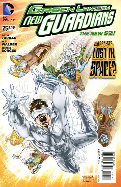 Green Lantern: New Guardians Vol 1 25