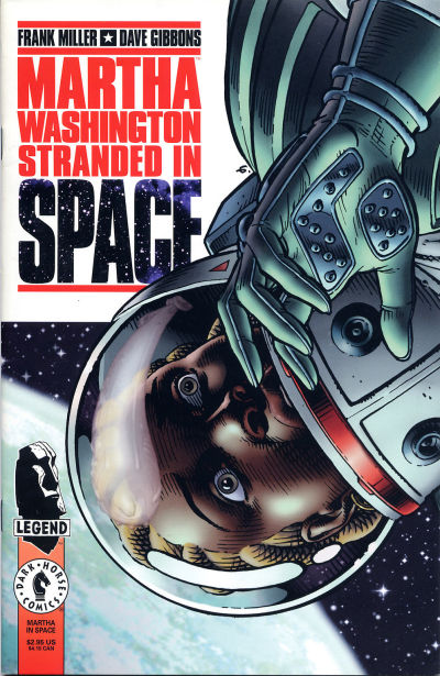 Martha Washington Stranded in Space Vol 1 1