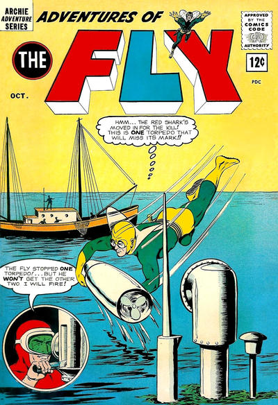Adventures of the Fly Vol 1 28