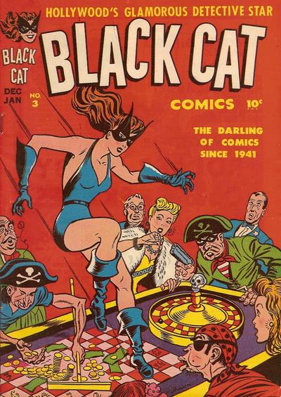 Black Cat Comics Vol 1 3