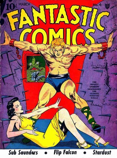 Fantastic Comics Vol 1 4