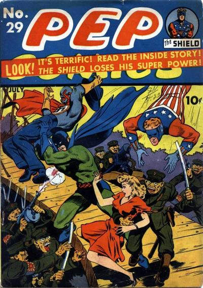 Pep Comics Vol 1 29