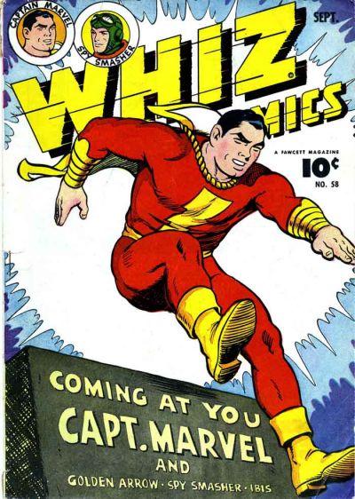 Whiz Comics Vol 1 58