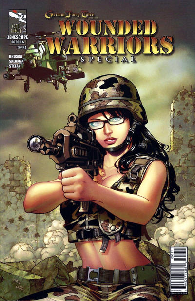 Grimm Fairy Tales Presents Wounded Warriors Special Vol 1 1