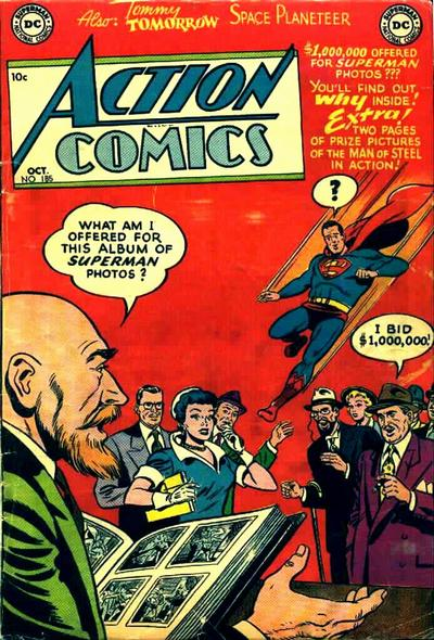 Action Comics Vol 1 185