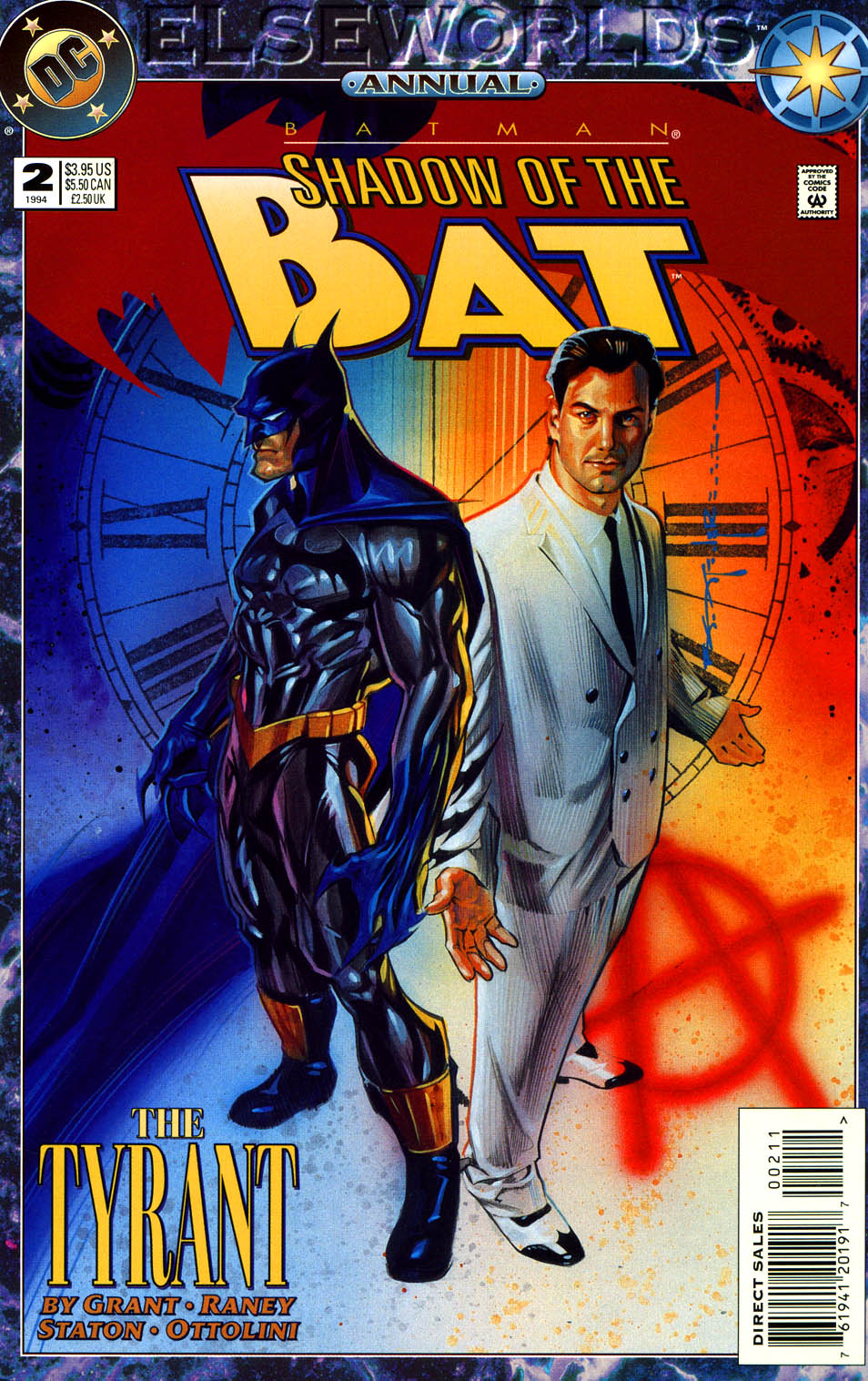 Batman: Shadow of the Bat Annual Vol 1 2