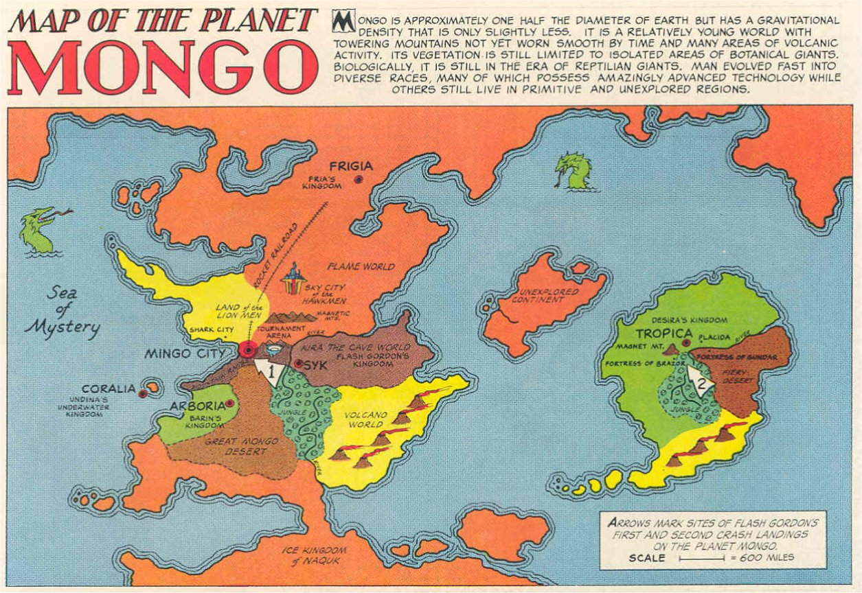 Mongo (planet)/Gallery