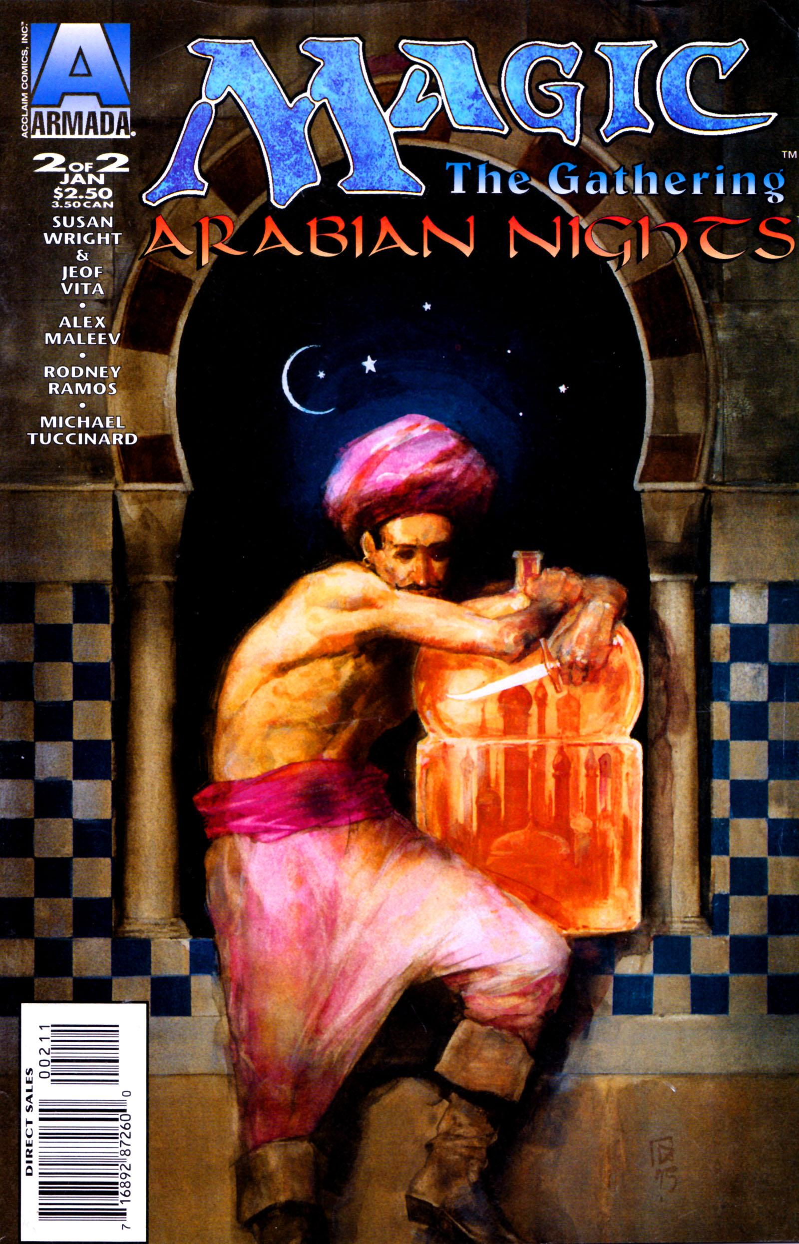 Arabian Nights on the World of Magic: The Gathering Vol 1 2