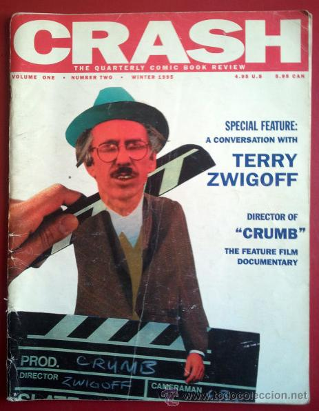 Crash: The Quarterly Comic Book Review Vol 1 2